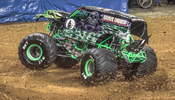 image for Win a VIP Grave Digger Package for Monster Jam!