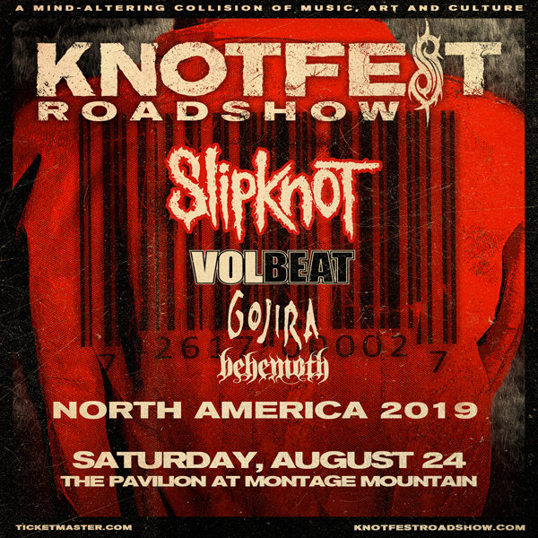 None -  Win tickets to see Slipknot at Montage Mountain!