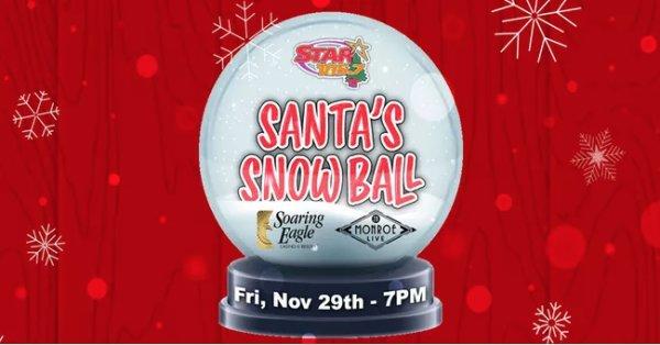None - Win Tickets To Santa's Snow Ball!