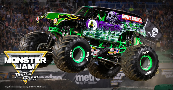 None - WIN a 4-Pack of Monster Jam Tickets!