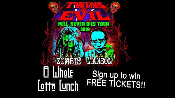 None - WHOLE LOTTA LUNCH: Rob Zombie/Marilyn Manson