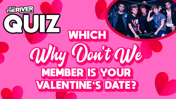 None - Which Why Don't We Member is Your Valentine's Date?