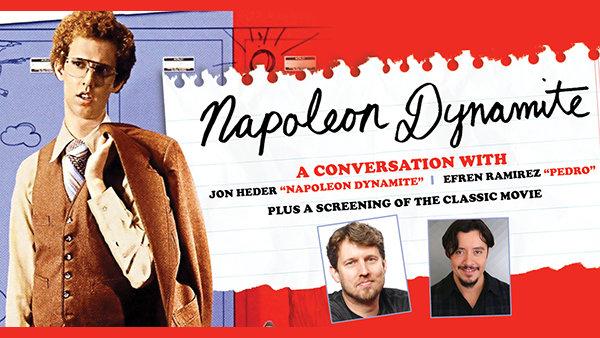 None -  Napoleon Dynamite: A Conversation with Jon Heder and Efren Ramirez