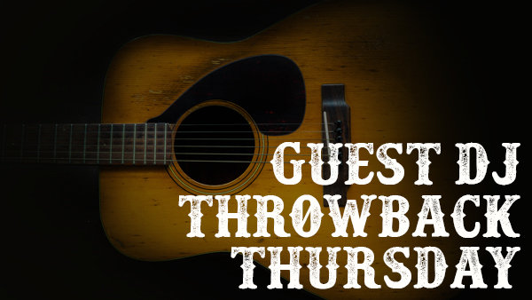 None - Sign Up To Be A Guest DJ for Throwback Thursday!