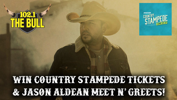 None - Win Country Stampede Tickets & Jason Aldean Meet N' Greet Passes!