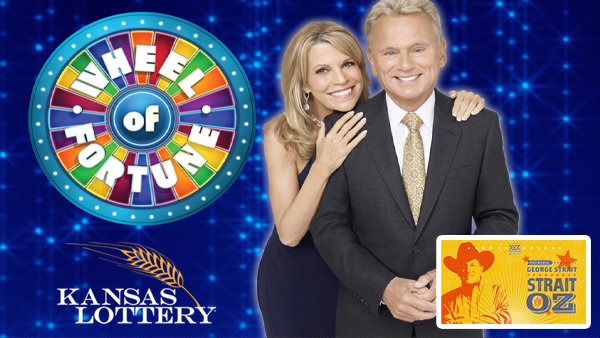 None - Win $30 in Kansas Lottery Wheel of Fortune Tickets & Qualify For George Strait Tickets!