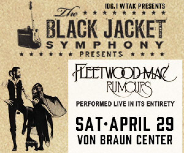Win a pair of tickets to see Black Jacket Symphony perform