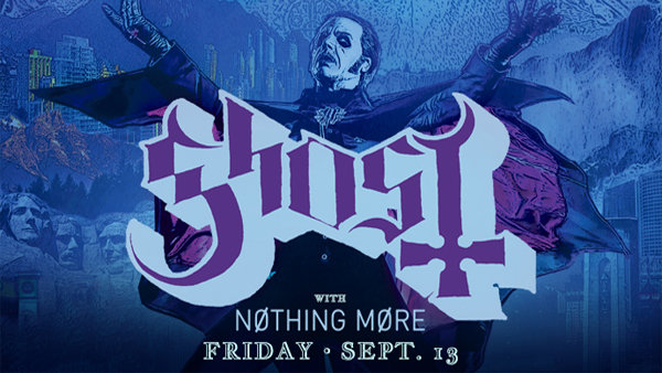 None - Win Tickets To Ghost LIVE!