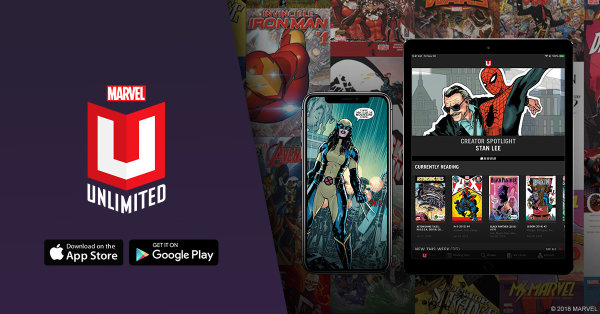 None - Win A Year Long Subscription To MARVEL UNLIMITED!