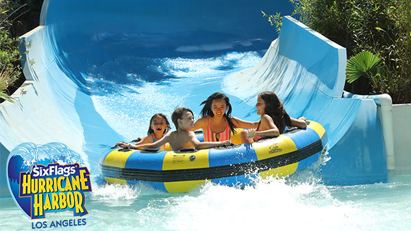 None - Win Tickets To Six Flags Hurricane Harbor!