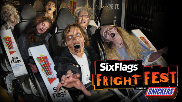 None - Win Tickets To Six Flags Fright Fest!