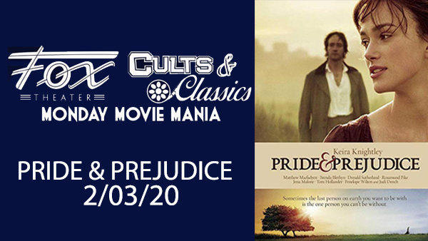 None - Win Tickets To See Pride & Prejudice at The Fox Theater!