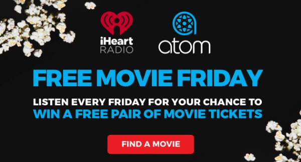 None -    Every Friday Is Free Movie Friday Thanks To Atom Tickets!