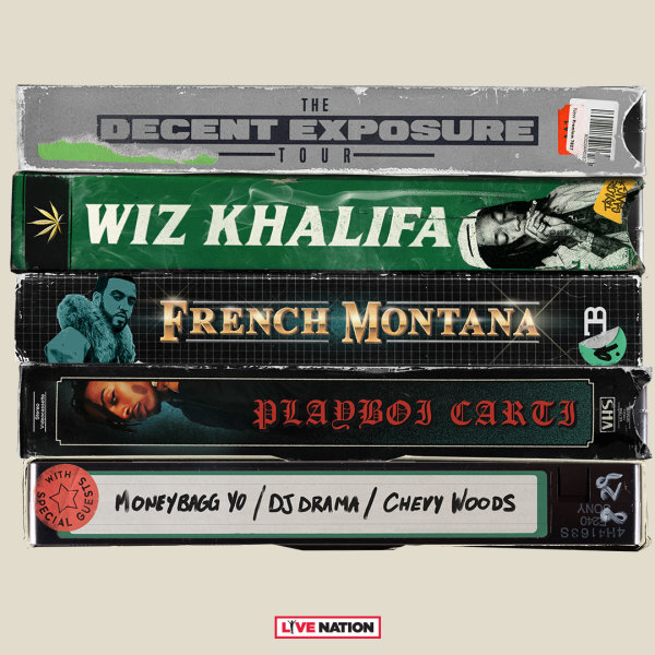 None - Listen To Win A Pair Of Tickets To See Wiz Khalifa!