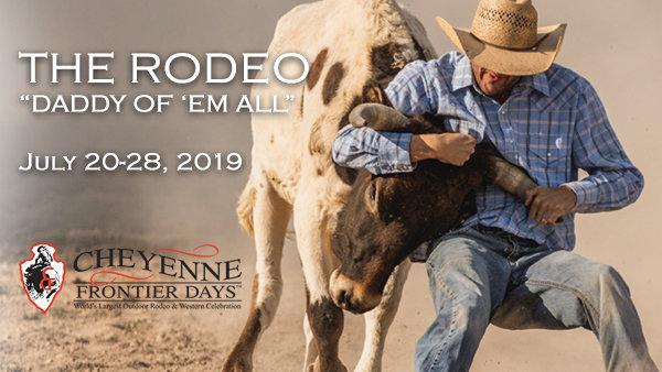 None - Cheyenne Frontier Days Rodeo!