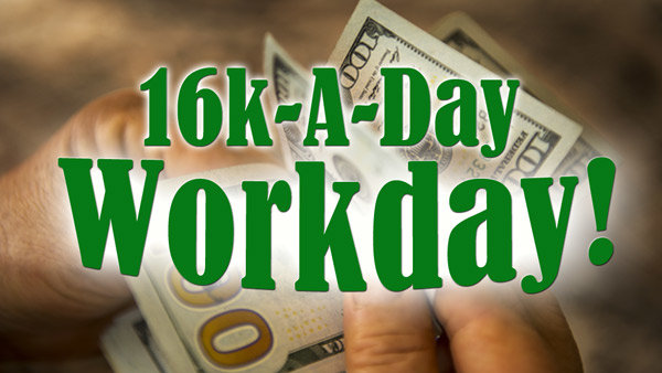 None - 16K-A-Day Workday: Listen to Win $1000 Every Hour!