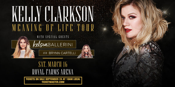 None - Kelly Clarkson tickets