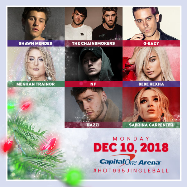 None - HOT 99.5 Jingle Ball Presented by Capital One Tickets!