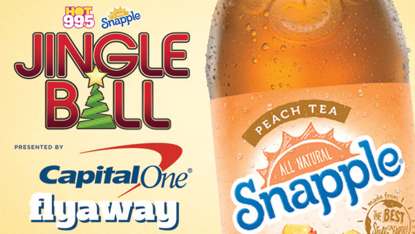 None -  Listen to Win a Jingle Ball Flyaway Provided by Snapple!