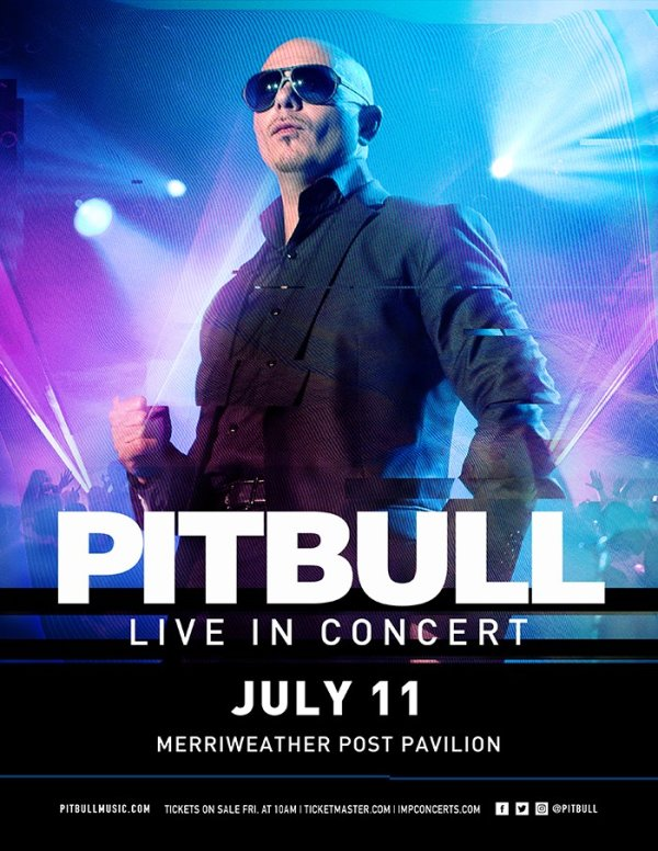 None -   Win Tickets to See Pitbull at Merriweather Post Pavilion!
