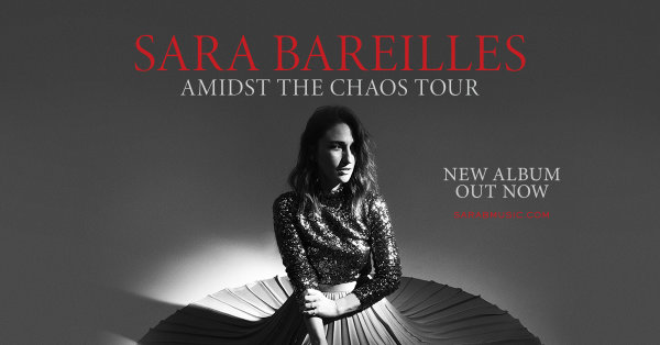 None -    Win Tickets to Sara Bareilles' SECOND Show!