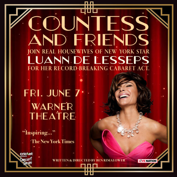 None -  Win Tickets to See Luann de Lesseps from Real Housewives!