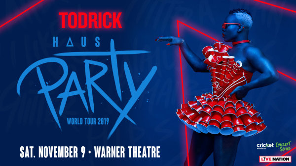 None -           Win Tickets to See Todrick Hall!