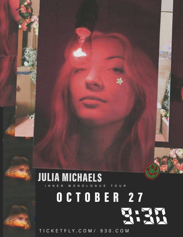 None - Win Tickets to Julia Michaels!