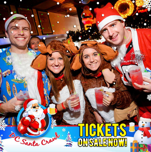 None - Win Tickets to the DC Santa Crawl!
