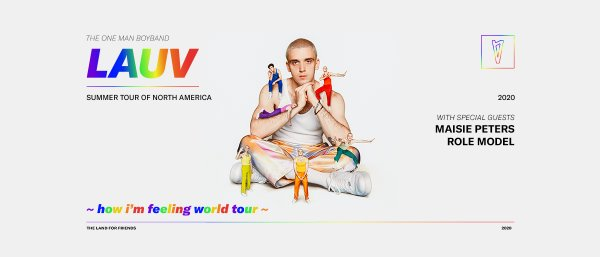 None - Win Tickets to See Lauv at MECU Pavilion!