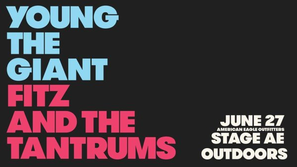 None - Win tickets to Young The Giant & Fitz and the Tantrums!