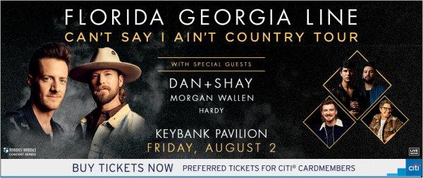 None -     Win tickets to Florida Georgia Line!