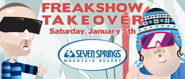 None -  Win tickets to the Mikey and Bob 7 Springs Takeover!
