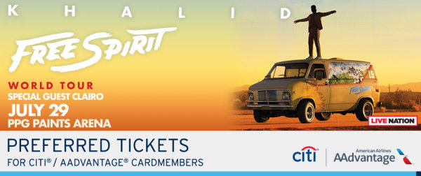 None -      Win tickets to Khalid!