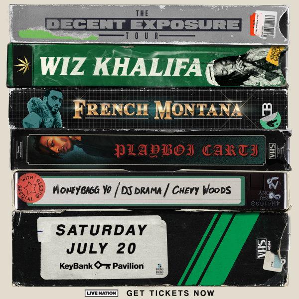 None -         Win tickets to Wiz Khalifa!