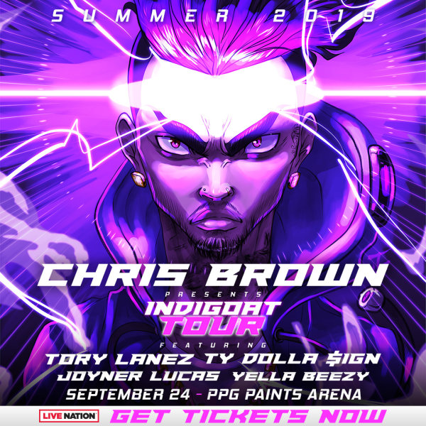 None -      Win tickets to Chris Brown!