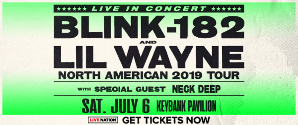 None -       Win tickets to 105.9 The X presents Blink-182 and Lil Wayne!