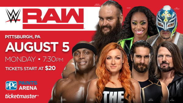 None -        Win tickets to Monday Night Raw!
