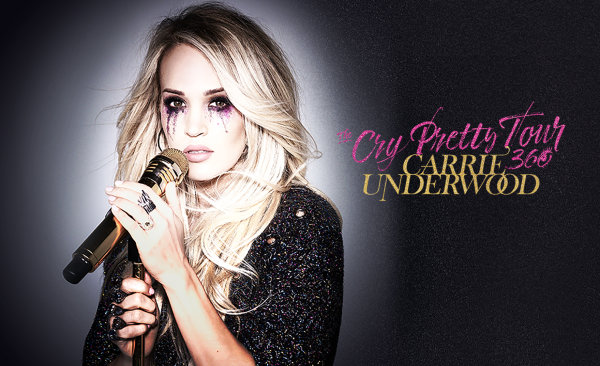 None - Win tickets to Carrie Underwood!