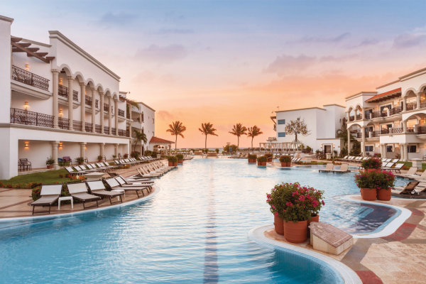 None - Win an all-inclusive trip to Hilton Playa del Carmen!