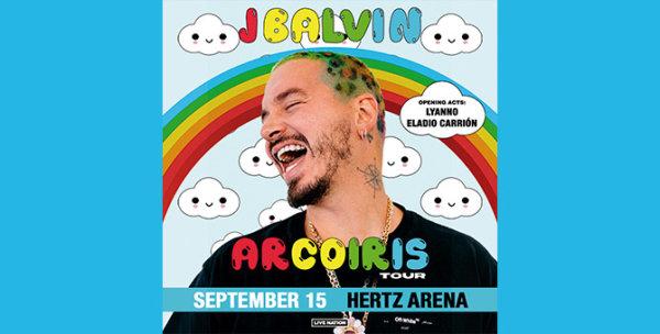None - J Balvin at Hertz Arena September 15, 2019
