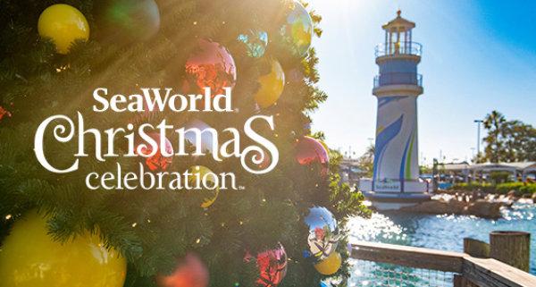 None - Experience the Christmas Celebration at SeaWorld Orlando!