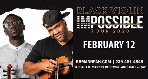 None - BLACK VIOLIN: Impossible Tour 2020
