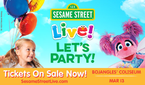 None - Win a Four Pack of Tickets to Sesame Street Live!