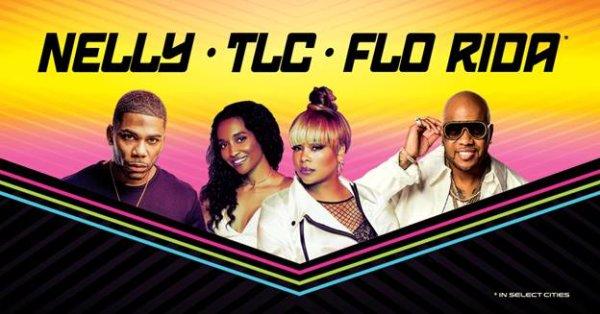 None - Win Nelly, TLC, and Flo Rida Tickets!