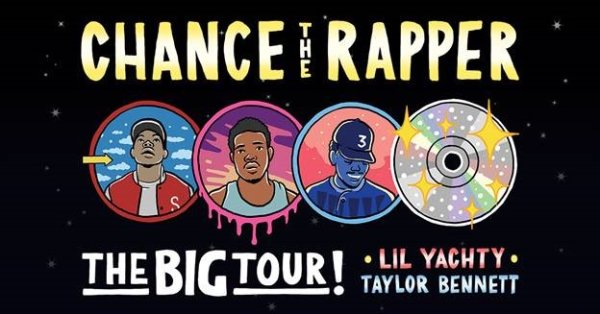 None - Win Chance The Rapper Tickets!