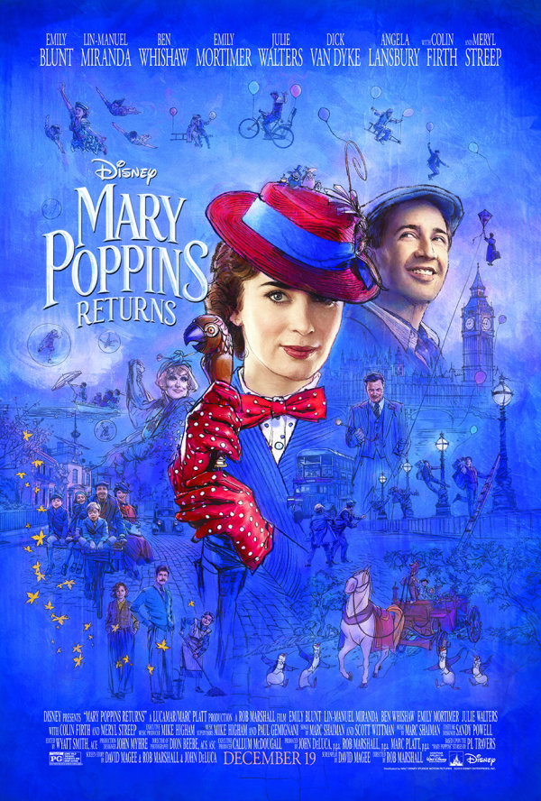 None - Mary Poppins Returns Advance Screening!