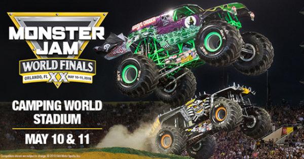 None - Monster Jam World Finals!