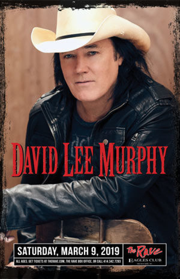 None - Win tickets to see David Lee Murphy