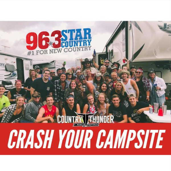 None -     Country Thunder: Crash Your Campsite!